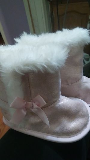 Carter's baby girl boots for Sale in Aberdeen, WA