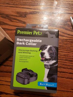 rechargeable.bark collar for dogs for Sale in Roseville, CA