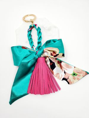 Scarf bag charm with a tassel for Sale in Baldwin Park, CA