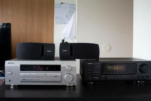 Bose 161 speakers, Onkyo receiver, Pioneer receiver, onkyo subwoofer for Sale in Galloway, OH