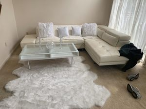 All White Furniture Set for Sale in Oxon Hill, MD
