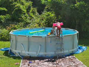 Summer wave pool 14ft x48in for Sale in Atlanta, GA