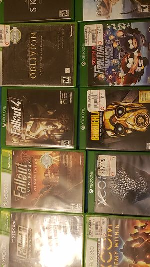 Xbox one & 360 games for sale for Sale in Sun City, AZ