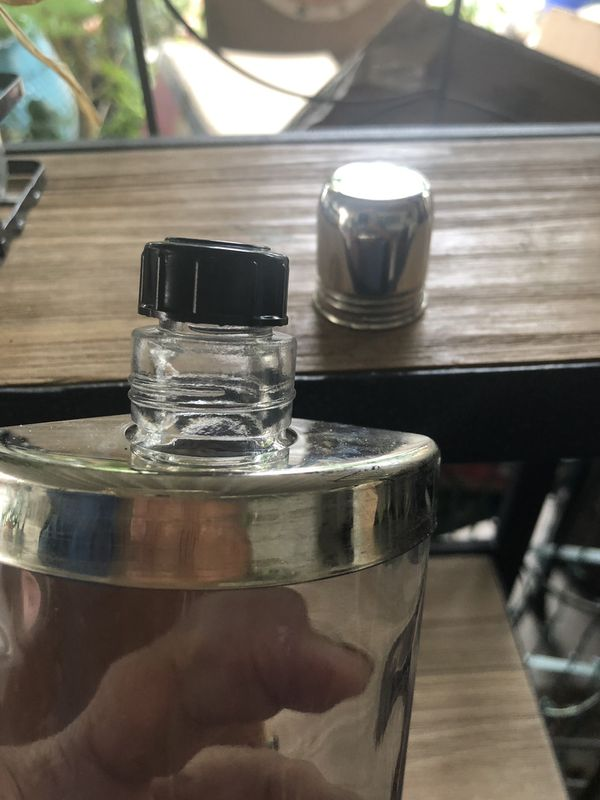 3 Flasks with case made in England