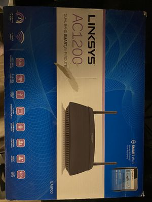 Linksys AC1200 WiFi router for Sale in Greenville, SC