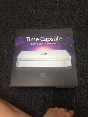 Apple Time Capsule WiFi Hard Drive for Sale in Garland, TX