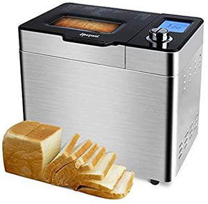 BRAND NEW Bread Machine, 25-in-1 Programmable Stainless Steel Bread Maker with Raisin Dispenser, Non-stick pan & Digital Display for Sale in Queens, NY