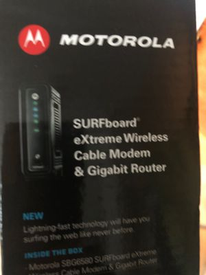 Modem/Router Motorola for Sale in Vancouver, WA