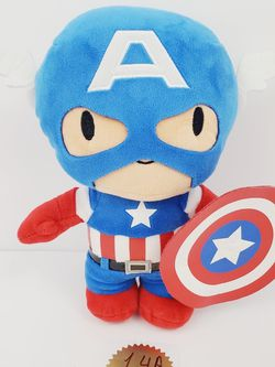 """Marvel Kids CAPTAIN AMERICA Universal Studios Plush Stuffed Toy 10"""" avengers for Sale in Queens,  NY"""