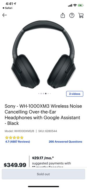 Sony 1000xm3 for Sale in Nashville, TN