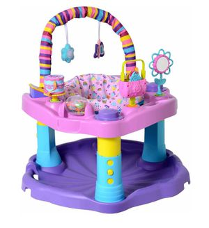 Evenflo Excersaucer Bounce & Learn Sweet Tea Party for Sale in Concord, MA