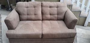 Basic Suede Love Seat for Sale in Los Angeles, CA