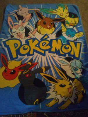 Pokemon plushies and blankie for Sale in Schenectady, NY
