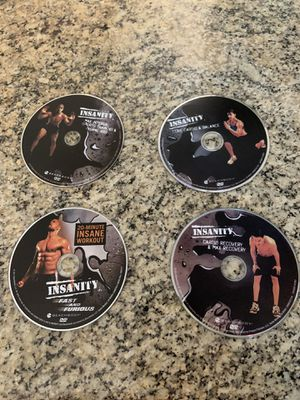 Insanity workout DVD's for Sale in Lemon Grove, CA