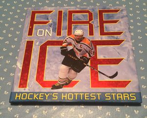 Fire on Ice Hockey's Hottest Stars Coffee Table Book for Sale in Chicago, IL