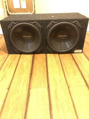 2 12inch KENWOOD excelon Subwoofers for Sale in St. Louis, MO