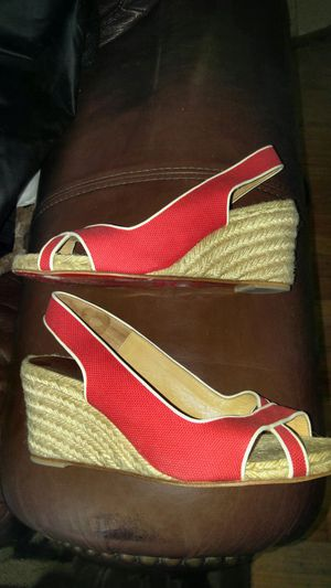 Women's shoes Christian LouBoutin wedges heels for Sale in Nashville, TN