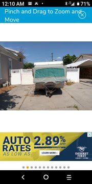 1973 Apache Pop Up Trailer - Ready to be your spontaneous adventure for Sale in San Diego, CA