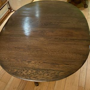 Antique maple dropleaf table for Sale in San Carlos, CA