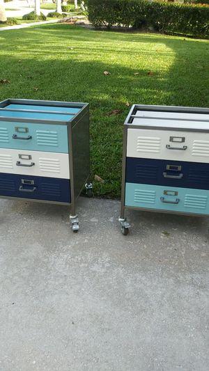 2 3 Draw Metal Cabinet Desk Storage for Sale in Port St. Lucie, FL