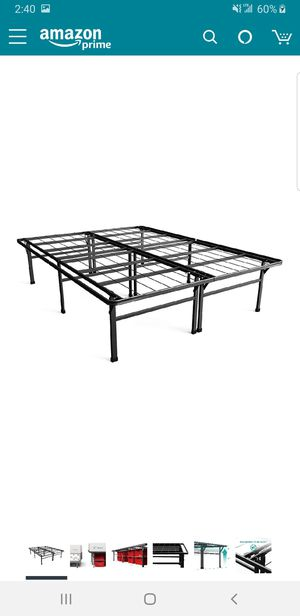 18 inch king size platform bed frame.. BRAND NEW..can deliver for Sale in Euclid, OH