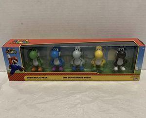 World of Nintendo Super Mario Yoshi Multi-Pack for Sale in Newton, KS