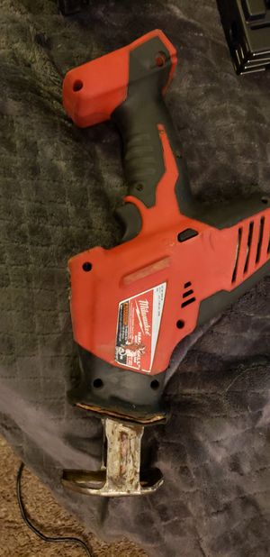 Milwaukee M18 HACKZALL Cordless One-Handed Reciprocating Saw 18 volt for Sale in Monroe, WA