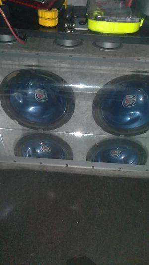 2 10inch kenwood car subs for Sale in Denver, CO