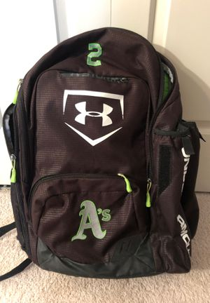 Under armour baseball bag backpack for Sale in Linthicum Heights, MD