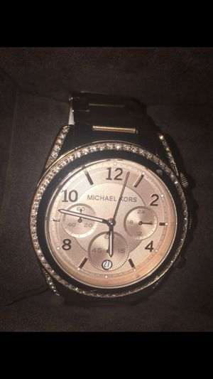 Rose Gold Micheal Kors Watch for Sale in Eldersburg, MD