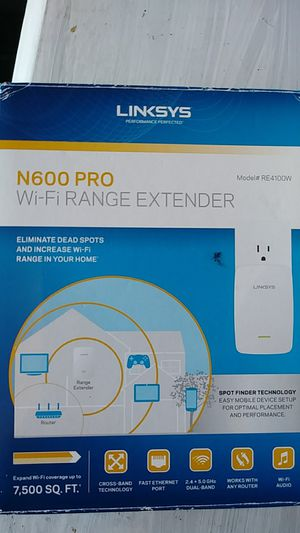 NEVER USED, LINKSYS WIFI RANGE EXTENDER for Sale in San Diego, CA