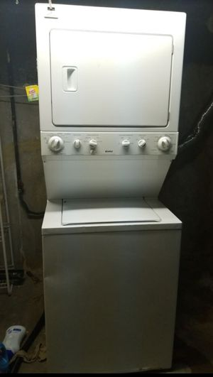 Combo used Kenmore washer and GAS dryer for Sale in Saint Ann, MO