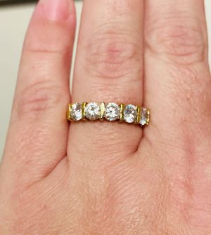 CZ Ring Band. Size 8. Jewelry for Sale in Fort Myers, FL