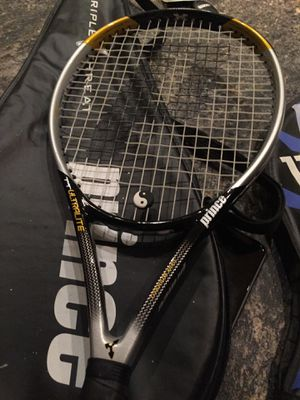 3 new tennis rackets. 4 covers for Sale in Menifee, CA