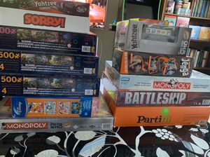 Misc Board Games/Puzzles for Sale in Ashburn, VA