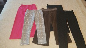 5 pairs of girls 4T pants for Sale in Lakewood, OH
