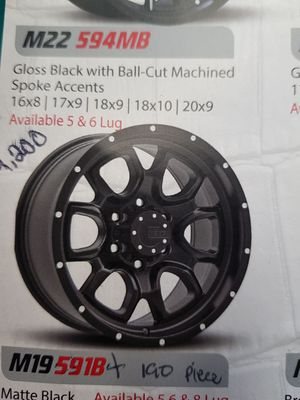 Wheels brand new 18x9. Fit on expedition . for Sale in Baltimore, MD