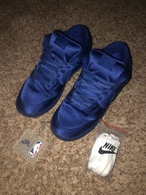 NBA x Nike Dunk Low SB 'Deep Royal Blue' for Sale in Fort Worth, TX