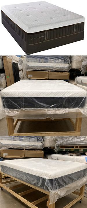 STEARNS AND FOSTER LUX ESTATE HYBRID QUEEN CUSHION FIRM MATTRESS ! SEALED ! for Sale in Glendale, AZ