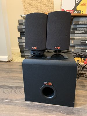 Klipsch 2.1 speakers and subwoofer for Sale in Columbia, MD
