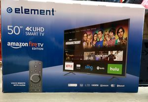 """Element Amazon Fire TV Edition 50"""" Smart LED 4K Ultra HD TV EL4KAMZ5017 for Sale in Fort Worth, TX"""