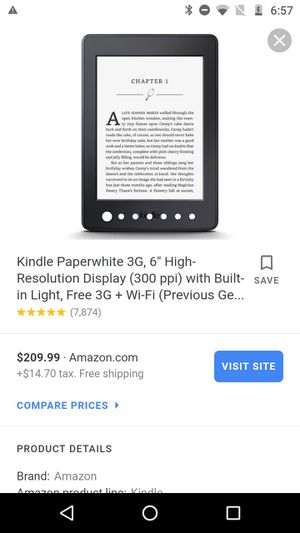 Kindle Tablet Reading Paperwork for Sale in Indianapolis, IN