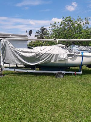 Catalina 22 with 9.9hp mariner for Sale in Miami, FL