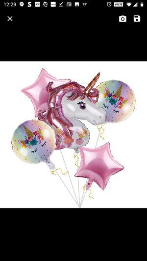 Unicorn balloon 6 for Sale in Lombard, IL