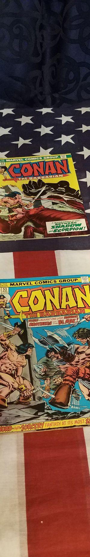 MARVEL COMICS CONAN THE BARBARIAN for Sale in Pomona, CA