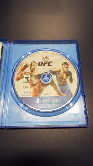 PS4 UFC (777929-13) for Sale in Tacoma, WA