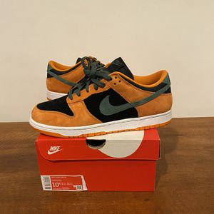DS Nike Dunk Low Ceramic Orange Black Green SB - Mens Sz 10.5 for Sale in Washington, DC