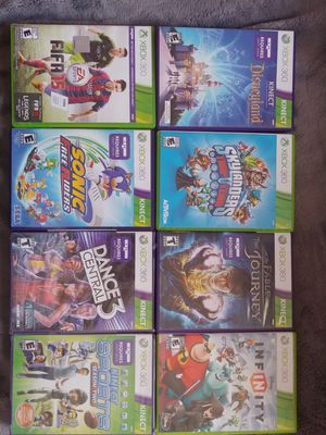 Xbox 360 Kinect games for Sale in Anaheim, CA