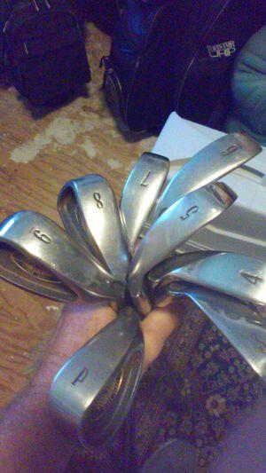 Golf clubs Turbo Power titanium steel for Sale in Pinellas Park, FL