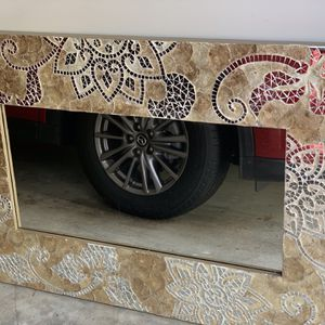 Beautiful mirrored wall decor please don't ask price low.. firm $250, for Sale in Glen Burnie, MD